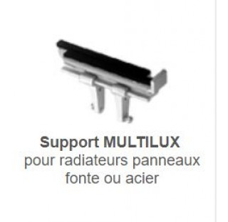 Supports tablette radiateur MULTILUX N  (la paire)