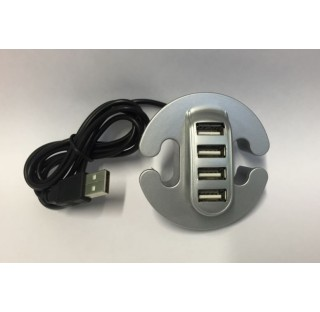 Passe- cables + 4 Ports USB